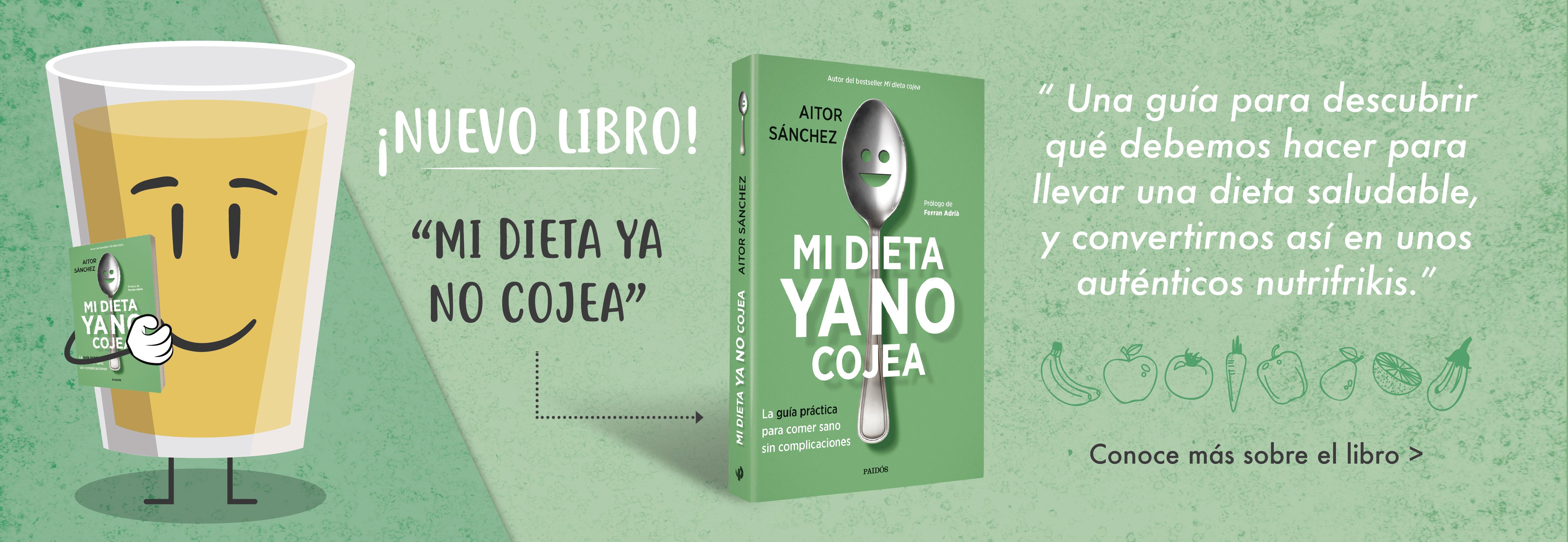 nuevo libro mi dieta cojea